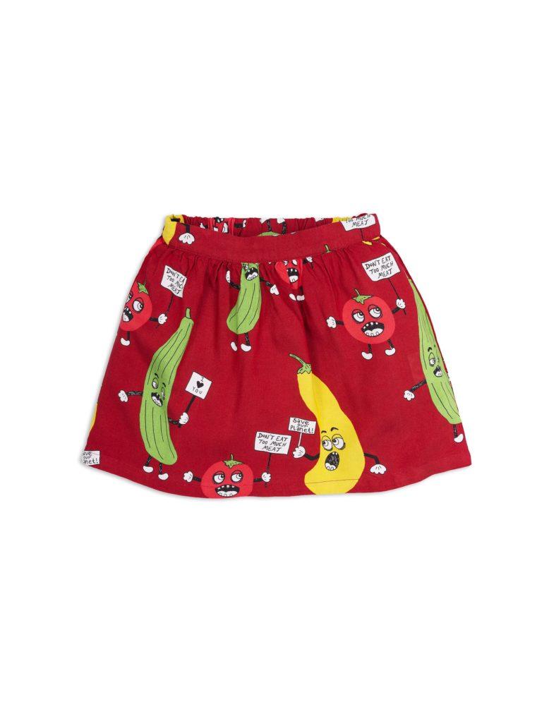 1823010942 1 mini rodini veggie woven skirt red
