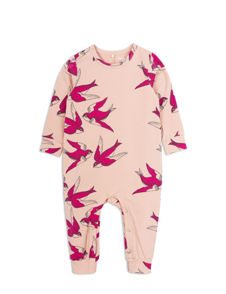 1824014833 1 mini rodini swallows jumpsuit pink