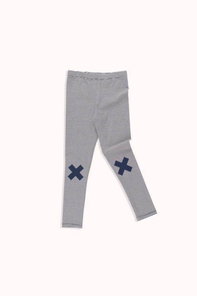 Tiny Logo pant navy
