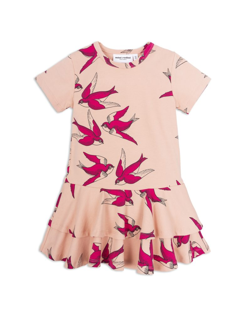 1825014233 1 mini rodini swallows frill dress pink