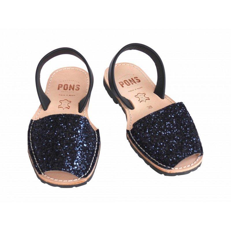 pons-ladies-sandals-navy-glitter-800x800