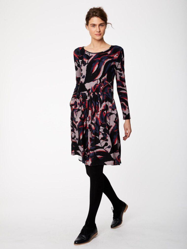 wwd3884-warm-grey_wwd3884-warm-grey--shadow-leaf-fitted-bamboo-dress-0002.jpg