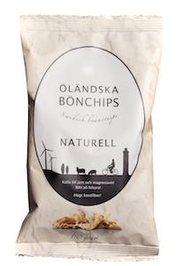 Svenska bönchips naturell